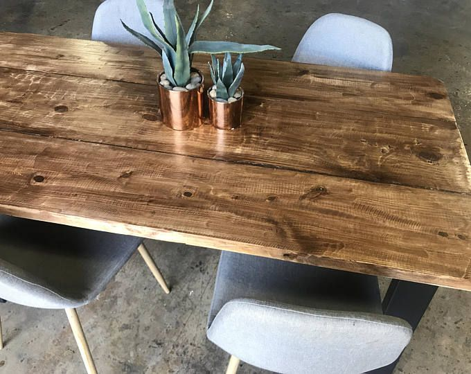 Rustic Table Dining Wood