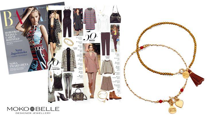 #mokobelle #mokobellejewellery #jewellery #jewelry #bransoletka #lifestyle #bijou #stars #pressroom #avanteen #harpersbazaar