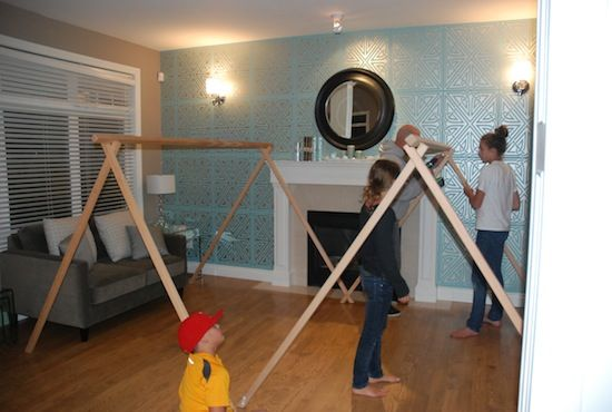 Glamping party party ideas pinterest kids tents for Glamping ideas diy