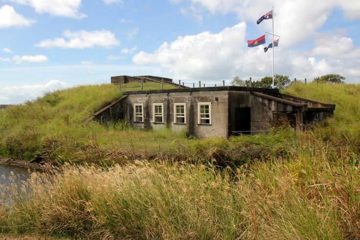 You don't need to travel to Europe to see a historic military fort – Brisbane has its very own coastal fortress, Fort Lytton, complete with a water-filled
