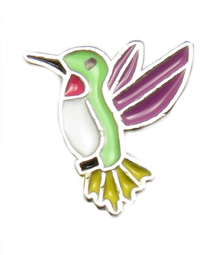 TJ Humming Bird Floating Charm Plus Get Great Prices on Floating Lockets and Floating Charms!
