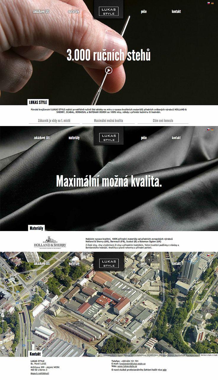 www.lukas-style.cz #webdesign