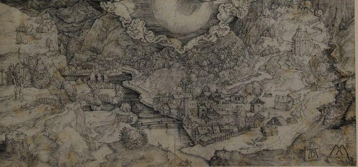 Albrecht Dürer. Nemesis, or the Large Fortune. Detail.