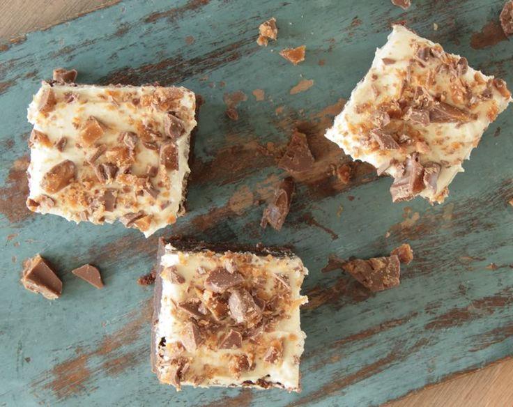 I går forkælede jeg de skønne damer på Kig Ind og Bazar med lækker chokoladekage med kaffefrosting og Daim.…