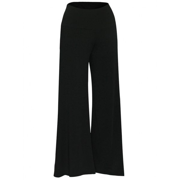 13.83$  Watch now - http://di136.justgood.pw/go.php?t=199517327 - Elastic Waistband Palazzo Pants 13.83$