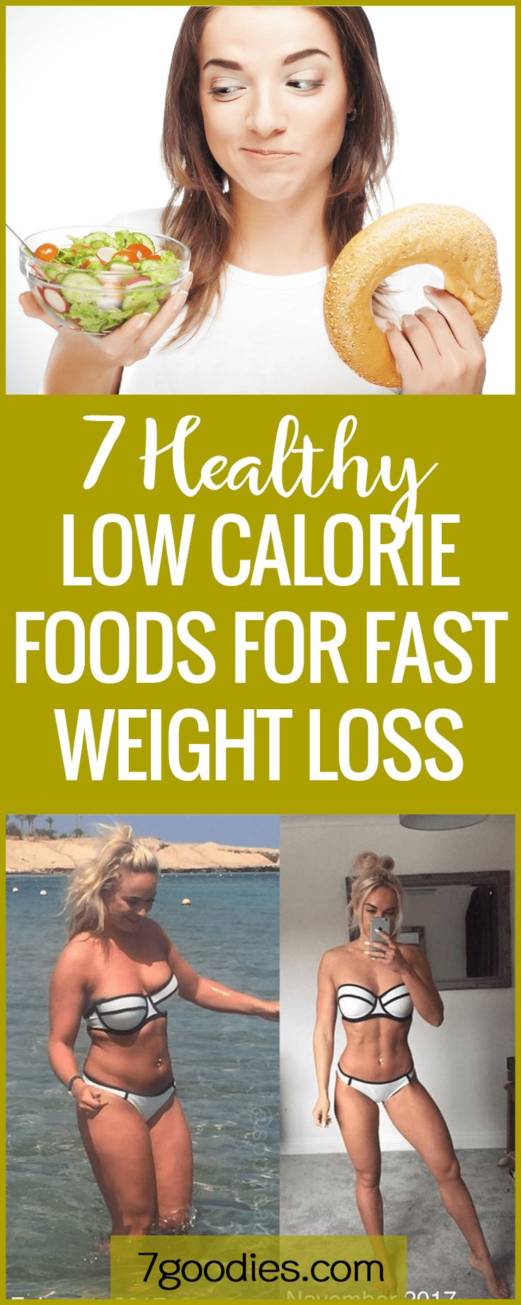 Low calorie foods for quick and #healthy #weightloss #healthyeating