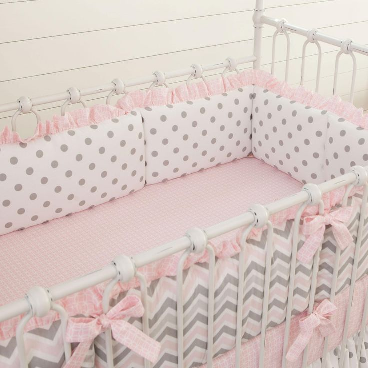 Comfy and Chic Crib Bumpers for Baby Crib Accessories Ideas: Crib Bumpers | Crib Bumpers Safety | Baby Crib Bumper Pads