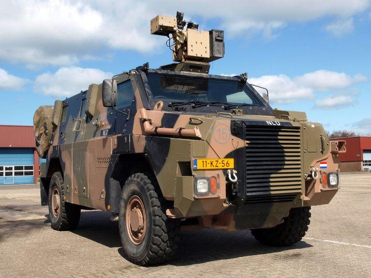 Royal Netherlands Army Bushmaster APV, VAU 12kN 4X4 ADI-THALES Bushmaster NLD at…