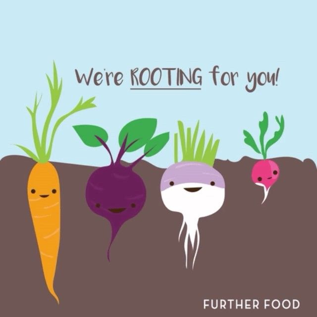 Haters gonna hate, we don't carrot at all. Turnip the beet!Tag a friend who's always radishing!