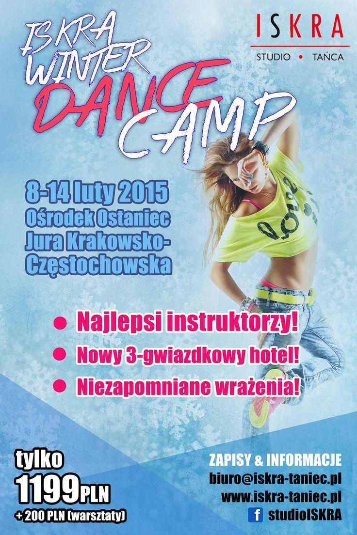 ISKRA WINTER DANCE CAMP   szczegóły wydarzenia: https://www.facebook.com/events/703788646384192/?fref=ts