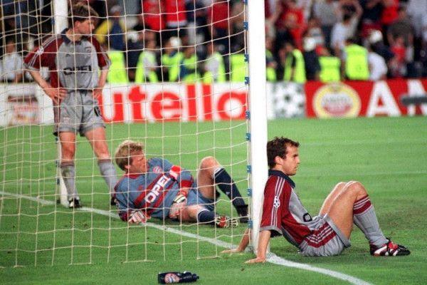 Bayer Munich 1 - 2 Manchester United  Final Champions League 1.999