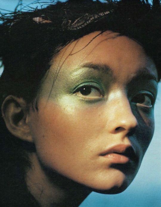 Splash | Audrey Marnay by Carter Smith W Magazine May 1998