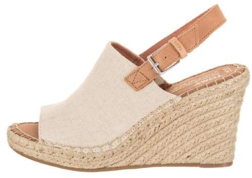 bf24aa5c0c7 Toms Women's Monica Casual Shoe | Shoes in 2019 | Shoes, Wedge ...