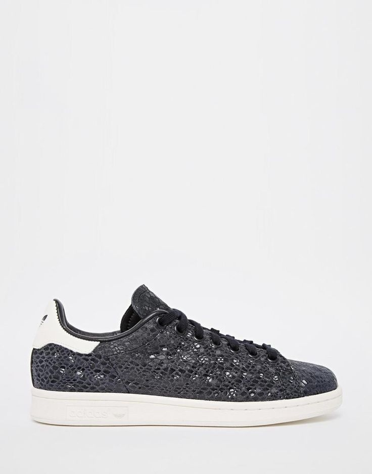 Adidas | adidas Originals Stan Smith Faux Snake Trainers at ASOS
