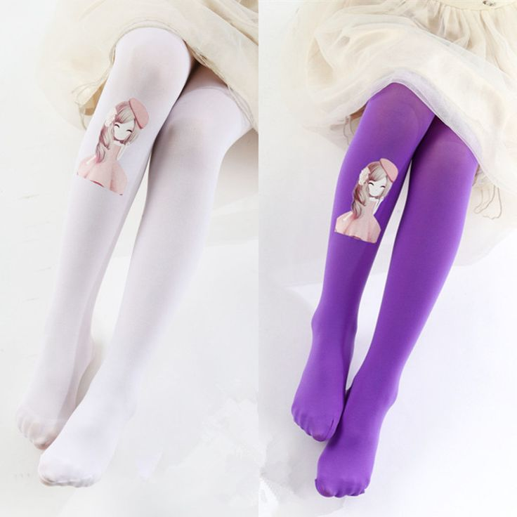 2017 Girls Stockings Tights For Girls Velet High Quality Baby Kids Girls Dancing Tights Pantyhose 3-8Y Girls Dance Stockings
