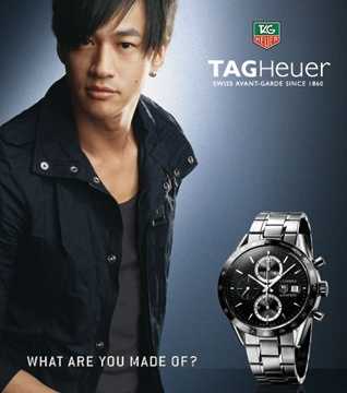 58 best images about ads with celebrities for tag heuer watches on pinterest for Celebrity watch brand male