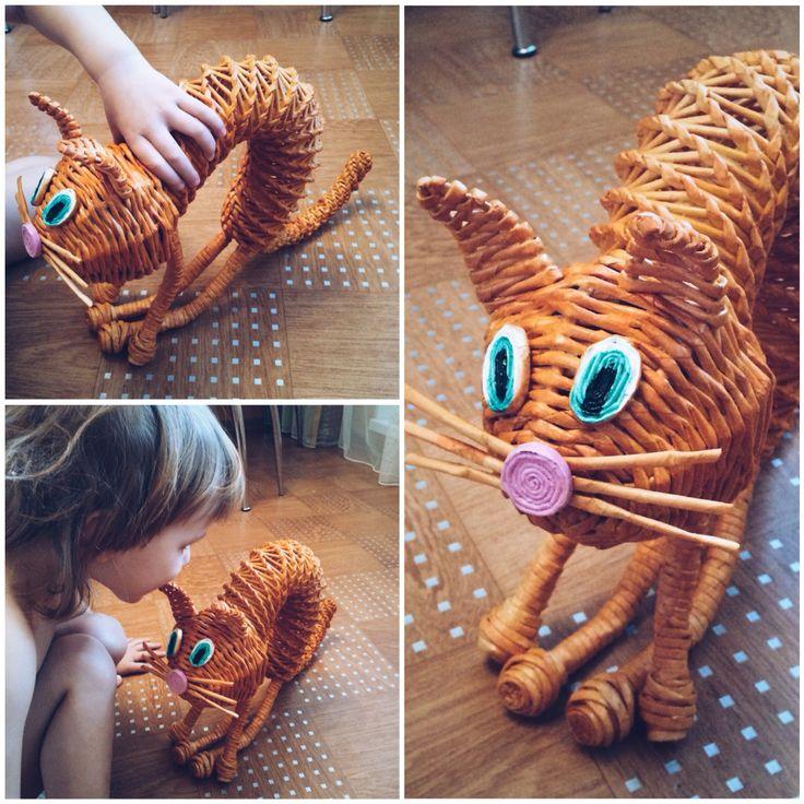 Кошка в подарок племяшке)