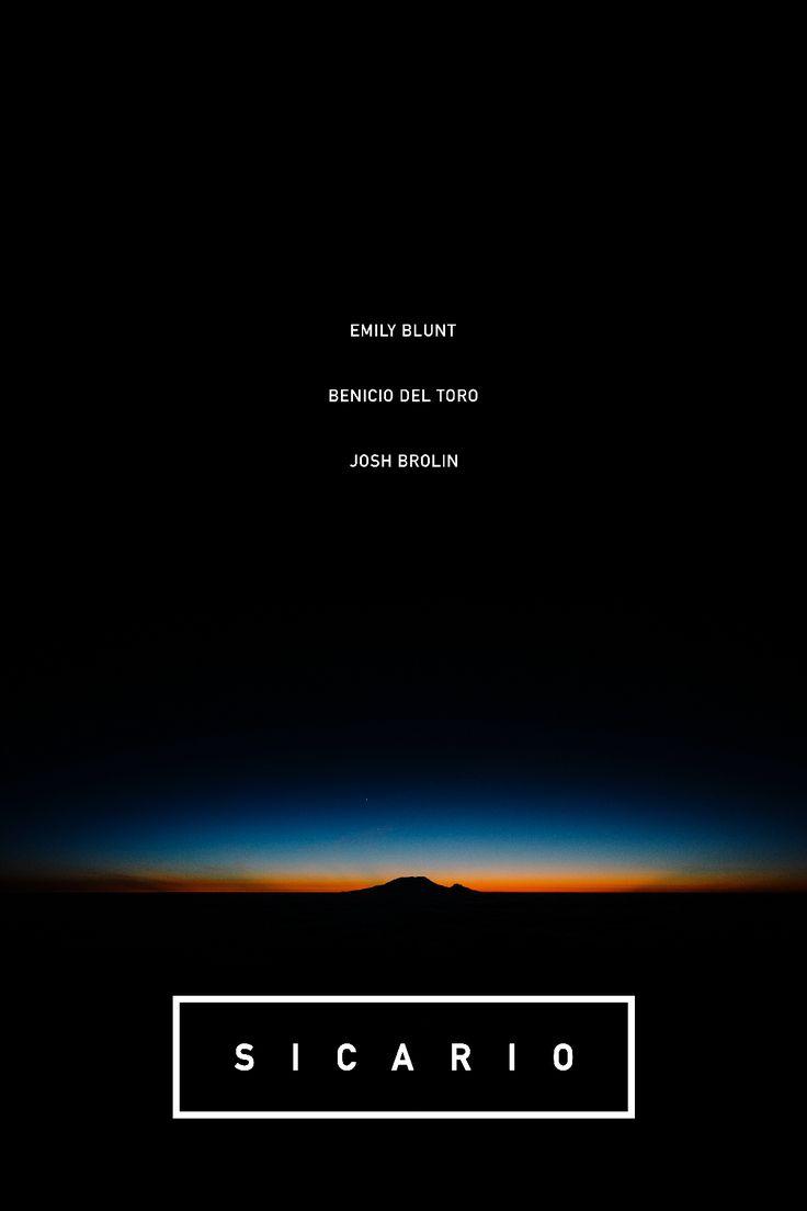 Sicario (2015) [1200x1800] [OC]