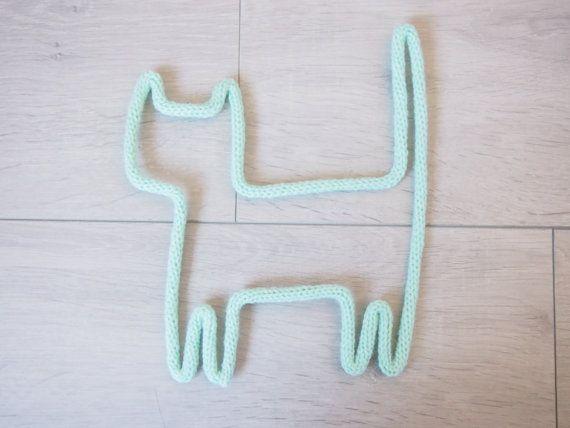 Kitten in knitting by ALittleL on Etsy