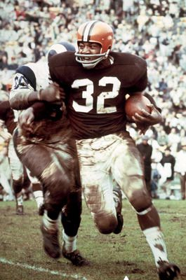 Why He's Tough: After leaving Syracuse as an All-American in football and lacrosse, Jim Brown went on to produce arguably the greatest rushing career in history. In 118 career games, Brown averaged 104.3 yards per game and 5.2 yards per carry. He never missed a game in his career. (#2)