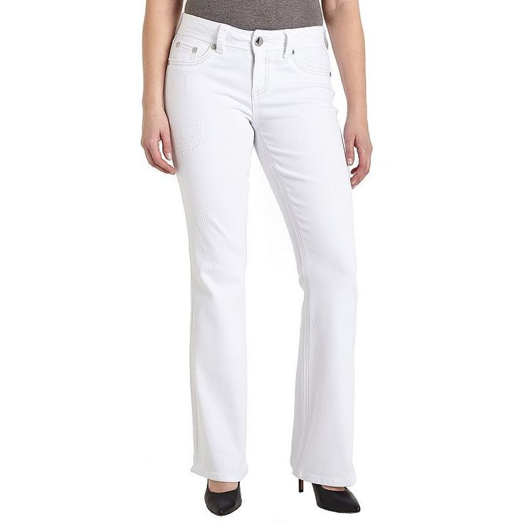 1000  ideas about White Bootcut Jeans on Pinterest | Bell bottom