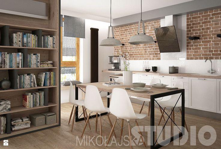 Kuchnia w stylu skandynawskim - zdjęcie od MIKOŁAJSKAstudio - Kuchnia - Styl Skandynawski - MIKOŁAJSKAstudio