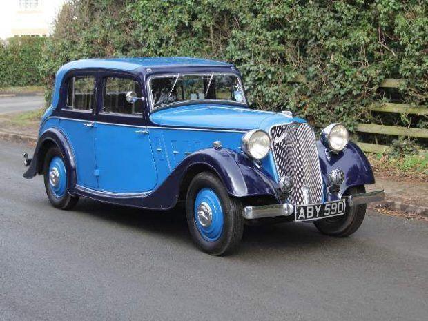 1934 CROSSLEY REGIS SIX