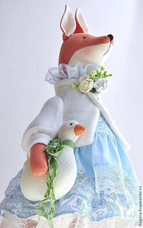 Купить Лиска - игрушка лиса, игрушка лисичка, лиска, лисичка, лиса, лиса игрушка
