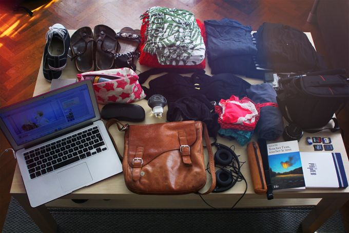valise pays chaud