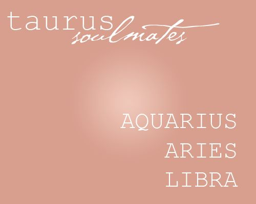 I guess I married the right person!  Taurus + Libra = 4 ever