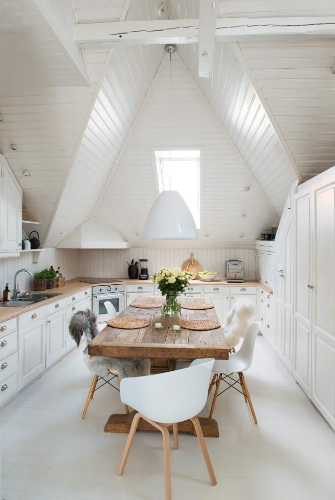 crisp, clean, and modern kitchen