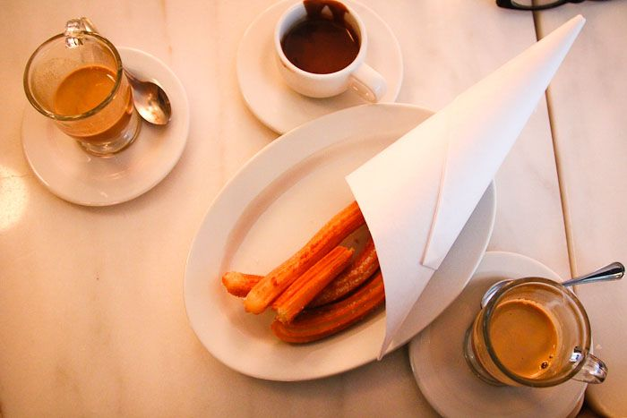 La Churreria in NoLIta makes incredible Spanish-style churros. Less sweet than their Mexican counterparts, the Spaniards typically serve their churros alongside a cup of dipping chocolate. Yum.