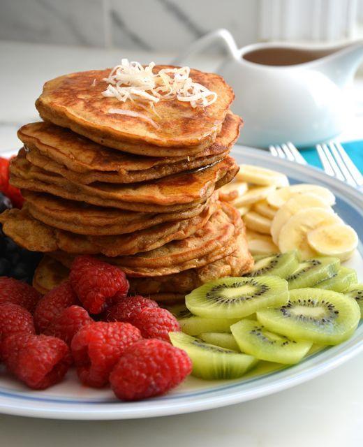 easiest banana pancakes - Hungry Happens!