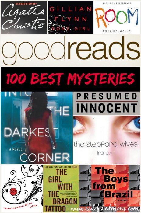 Here are the 100 Best Mysteries and Thrillers of All Time - Voted On By The Folks at Goodreads