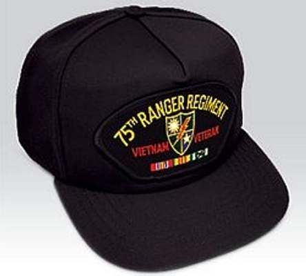 Show your Service Pride wearing your sharp Vietnam 75th Ranger Rgt Veteran hat. Embroidered patch on a high profile hat with a traditional snap back closure.