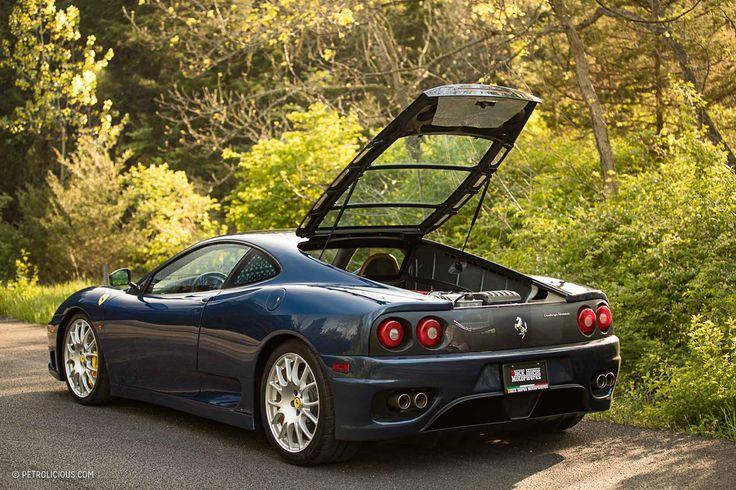 Rarity Squared: The Manual Gearbox Ferrari 360 Challenge Stradale • Petrolicious