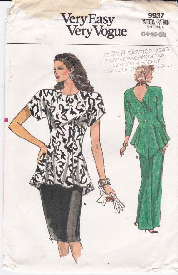 161 besten Tops - Sewing Inspiration Bilder auf Pinterest   Vogue ...