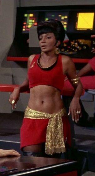 Lt. Uhura, Mirror Mirror - Star Trek ;-)~❤~   #startrek #LLAP #kurttasche