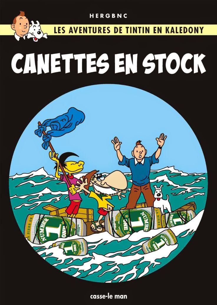 Les Aventures de Tintin - Album Imaginaire - Canettes en Stock
