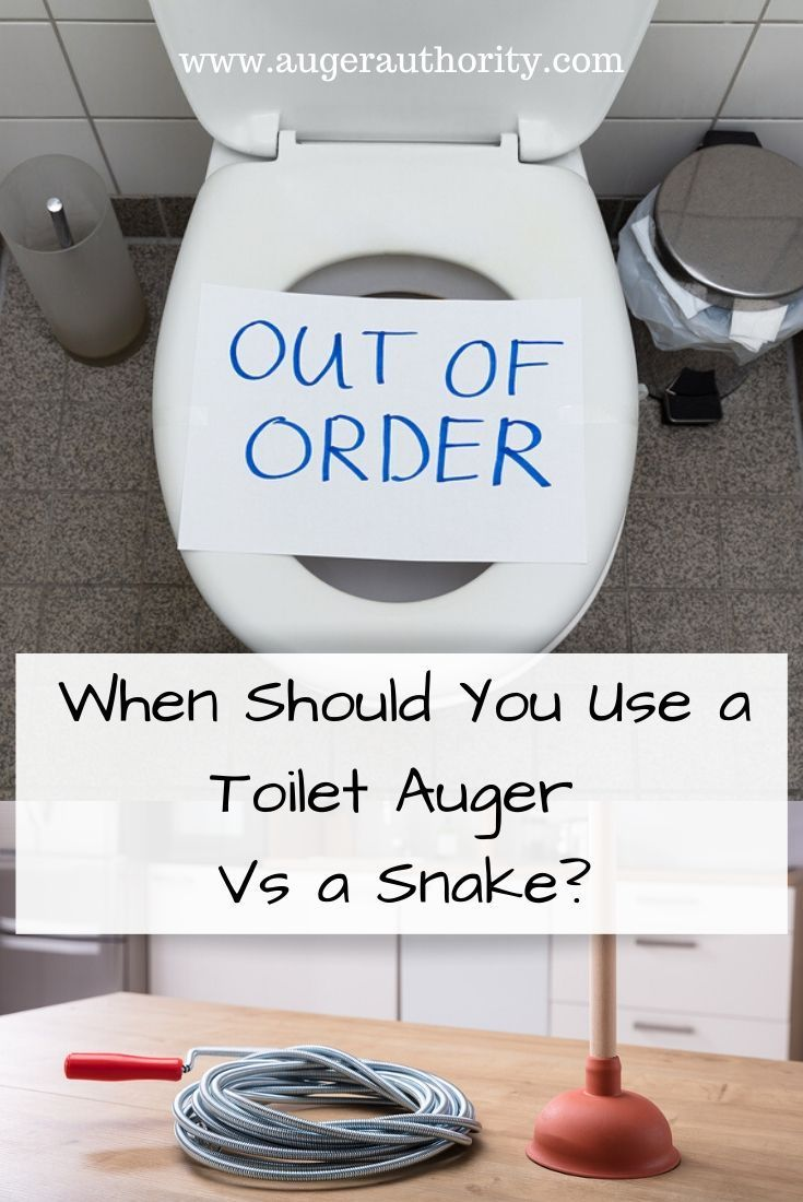 Make Sure You Get The Right Tool For Unclogging Your Toilet Or You