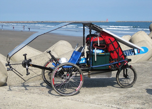 87 best images about recumbent bike touring on pinterest for Recumbent bike with electric motor