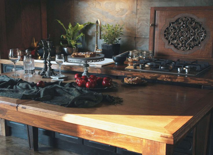 Table, Kitchen Table, Kitchen, Wooden Table, Woodworking, Polish woodworking www.drewnoikamien.pl