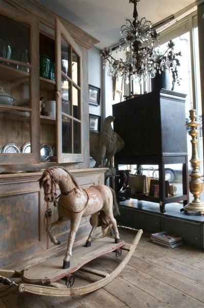 Alex MacArthur...Antique Rocking Horse