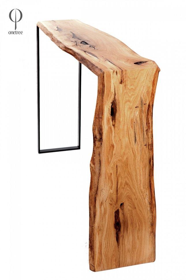Onetree - konsola z drewna dębu