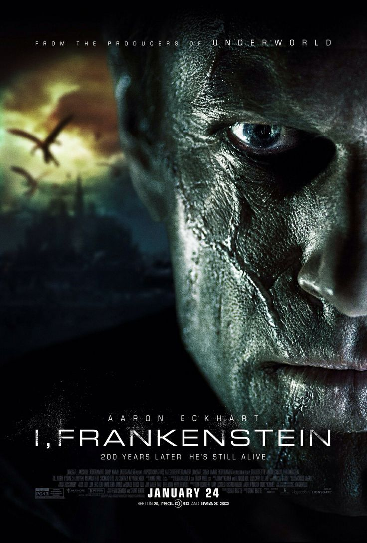 I, Frankenstein - Frankenstein's creature finds himself caught in an all-out, centuries old war between two immortal clans.
