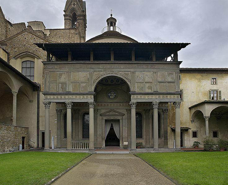 BRUNELLESCHI, Cappella Pazzi, Firenze 1429-43