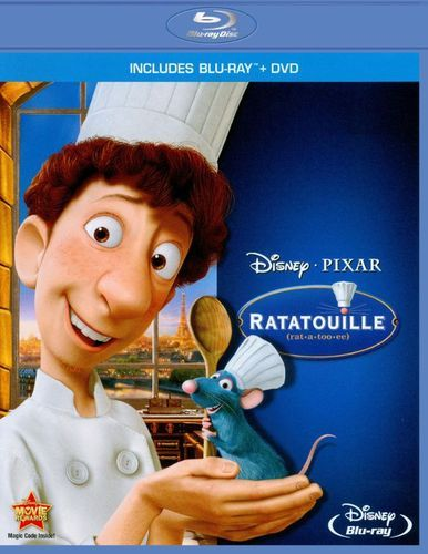 Ratatouille [2 Discs] [Blu-ray/DVD] [2007]