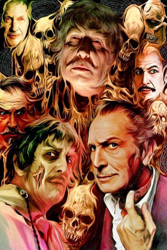 Vincent Price Artwork Horror Horroricon Vincentprice Horrorart Horrorartwork Ilovehorror Horror Movie Icons Classic Horror Movies Horror Movie Art