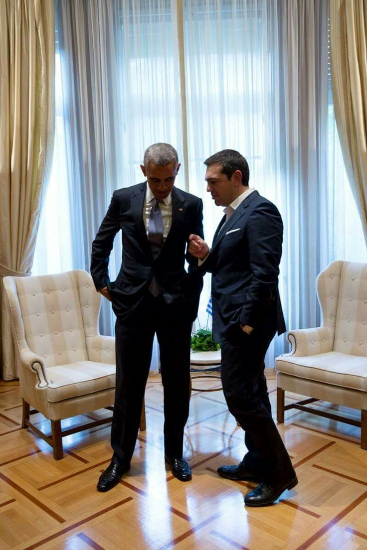 President Obama and Greek Prime Minister Alexis Tsipras