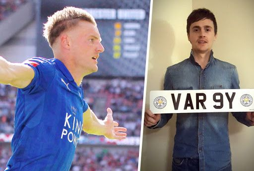 World famous footballer Jamie Vargy anger  Leicester Mercury:   Chancer set to lose thousands because Jamie Vardy doesn't want to buy his number plate   Look Jamie, put the plank out of his misery by changing your name to Vargy.